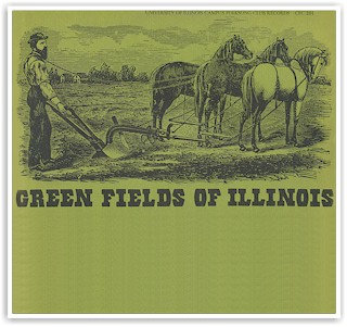 """The front cover of """"Green Fields of Illinois"""""""
