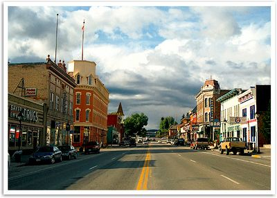 Looking north down Harrison Avenue, Leadville, Colorado